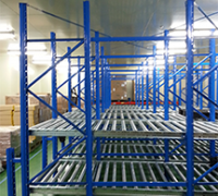 Gravity Live Flow Racking System